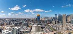 727 West Madison dominates the West Loop skyline (YoChicago) Tags: chicago yochicago highrise newconstruction towercrane crane westloop pepperconstruction 727westmadison apartments ffrealty fitzgeraldassociates skyline fifield