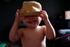 Silly hat dude (Juanita vdK) Tags: deltabc toddler vancouverbc surreybc littleboys littlemoments smiles