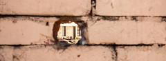 Hole in the Wall (benjamin.t.kemp) Tags: split croatia hole wall bricks secrets secret building
