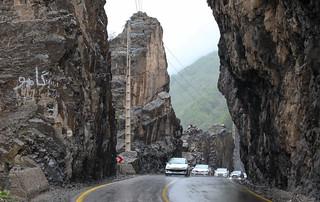 Chalus Road, Alborz Province, Iran