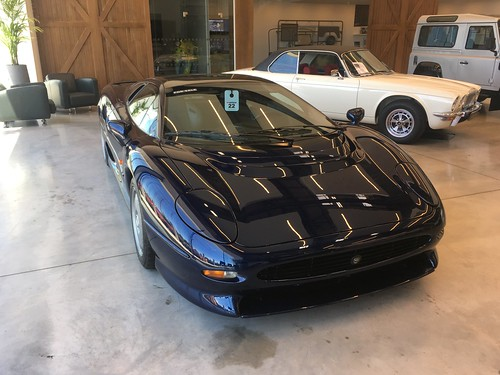 For sale: dark blue XJ220
