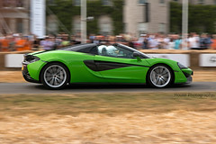 * Mclaren 570S Spider ({House} Photography) Tags: fos festival speed 2018 race racing hill climb motorsport car automotive canon 70d 24105 f4 panning supercar lord march housephotography timothyhouse mclaren 570s spider convertible green