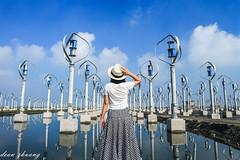 wind power (小莊4) Tags: wind windpower power canon eos m10 1445 taiwan 王功