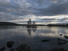 Stor-Scabram (daverichards4819) Tags: storscabram jokkmokk sweden still blue late evening arctic circle north light