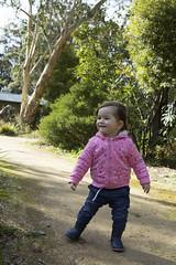 enjoying the wind (louisa_catlover) Tags: child daughter family portrait tabitha garden outdoor walking karwarra dandenongs melbourne australia winter botanicgarden july 2018 windy