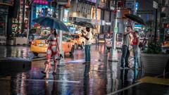 Manhattan Vignettes 5 (justenoughfocus) Tags: luminar macphun newyork newyorkcity sonyalpha colors manhattan night nightlife nightphotography nyc reflections skylum sonya7rii streetphotography unitedstates us