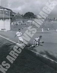 905- 5556 (Kamehameha Schools Archives) Tags: kamehameha archives ksg ksb ks oahu kapalama luryier pop diamond 1955 1956 david cooper iolani sports baseball