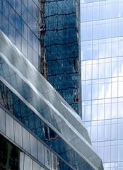 Condos At L'Estaque (nrg_crisis) Tags: abstractarchitecture reflections nyc sky skyscraper architecture windows