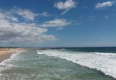 surfing (~J♡onbicykle ☞) Tags: portugal costadacaparica surfing