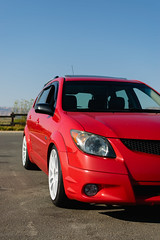 DSC_0706 (jaytotheveezy) Tags: pontiac vibe base lava red 1zz work crkai kiwami ultimate bcracing coilovers toyo tires genvibe