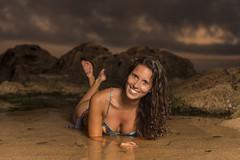mermaid (Paulo Calafate) Tags: canon5dmarkiv canonef2470mmf28liiusm mermaid beauty beach sunset summer sea rocks portrait girl models books