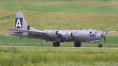 A98I2738 (CdnAvSpotter) Tags: fifi b29 superfortress boeing airplane aviation warbird vintage wings gatineau airport cynd ynd canada ottawa commemorative air force caf airpowertour marshallers ground crew bomber