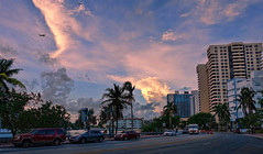 Indian Creek Dr in the afternoon. (Aglez the city guy ☺) Tags: indiancreek miamibeach miamifl urbanexploration sobe southbeach lateafternoon cityscapes walkingaround walking architecture afternoon sky colors clouds outdoors