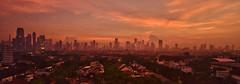Jakarta SunRise 4-15-2018 DSC_9896 (JKIESECKER) Tags: citylife cityscenes cityscapes citystreets city jakarta jakartaindonesia indonesia peopleandnature sunrise orange