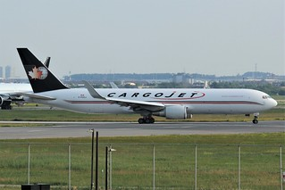 Here is CargoJet Airways C-GCCJ