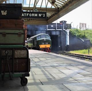 Arrival at Platform 2