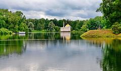 Catherine Palace  Park (meren34) Tags: stpetersburg russia pushkin palace reflection garden park lake