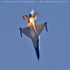 0989 Belgian F16 (photozone72) Tags: yeovilton yeoviltonairday aviation airshows aircraft airshow belgianairforce belgian f16 canon canon7dmk2 canon100400f4556lii 7dmk2