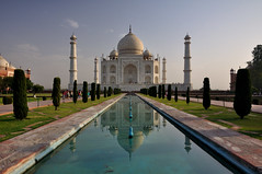 Reflections Of The Taj Mahal