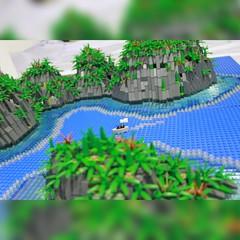 Raja Ampat, West Papua, Indonesia #wonderfulindonesia #lego #legomoc #diorama #island #papua (daniel icious) Tags: island legomoc diorama lego papua wonderfulindonesia
