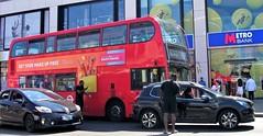 Abellio London  9495  bump  in Wimbledon 15/07/18. (Ledlon89) Tags: london bus tram buses trams tfl transport londonbus londonbuses londontrams wimbledon croydon