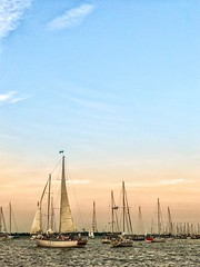 sail away with me (allyson.marie) Tags: sunset sky ships sails sailboat water ocean landscape boats