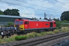 Territorial Steel (JohnGreyTurner) Tags: br rail uk railway train transport diesel engine locomotive thirsk yorkshire freight 60 class60 tug ews db dbs dbc steel