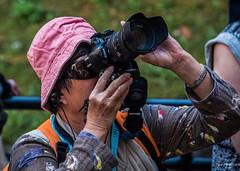 2018 - Bulgaria - Vidin - Baba Vida Fortress Photographer (Ted's photos - Returns Late November) Tags: 2018 bulgaria cropped nikon nikond750 nikonfx tedmcgrath tedsphotos vignetting photographer camera bokeh lenshood hat sunglasses nikond60 nikonlens lens d60 composing aiming shooting