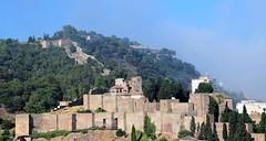 Alcazaba de Málaga (Andalucía, España, 15-6-2018) (Juanje Orío) Tags: 2018 málaga provinciademálaga andalucía españa espagne espanha espanya spain alcazaba muralla castillo wall biendeinteréscultural