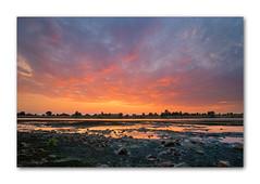 Afterglow (PhotoChampions) Tags: afterglow sunset abendrot sonnenuntergang elbe stove germany deutschland river fluss landscape landschaft ngc