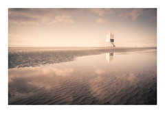 The Lonely Sea and the Sky (David Haughton) Tags: burnhamonsea lighthouse beach ripples reflection somerset