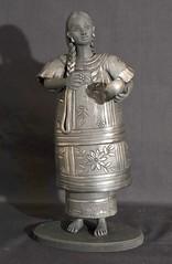 Black Pottery Mazateca Woman Mexico (Teyacapan) Tags: barronegro blackpottery oaxaca mexico coyotepec mazatec woman mujer
