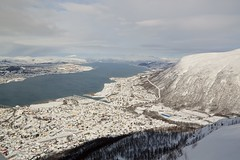 DSC_3233 (stephenholden46) Tags: tromso norway snow winter harbour arcticcircle