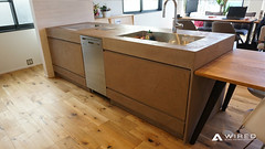 mortex (WIRED Co., Ltd.) Tags: wired walldesigncompany mortex bar kitchen lounge ワイヤード モールテックス 特殊塗り キッチン カウンター 店舗 interior shop