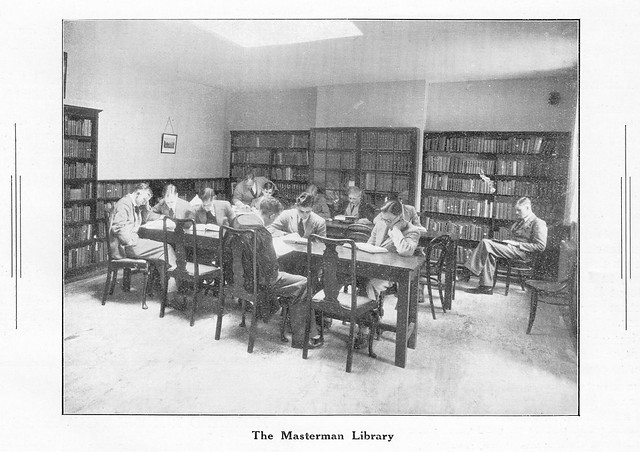 Masterman Library, July 1947