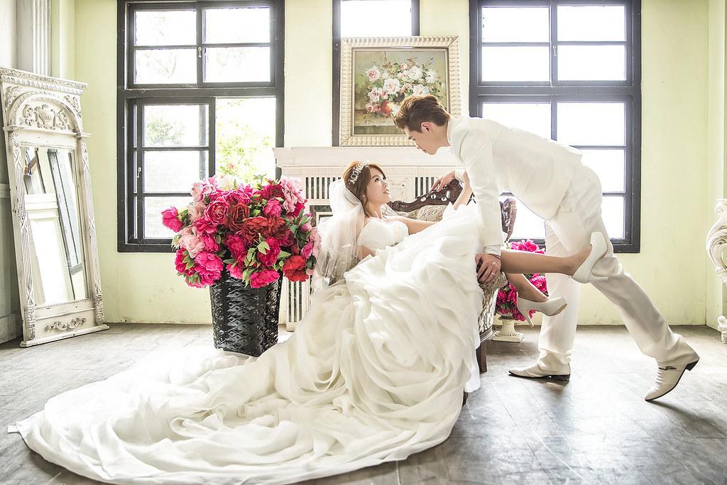 036婚紗攝影-婚紗照-淡水莊園-逆光