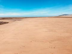 The beach at Walney, Barrow-in-Furness. (Bennydorm) Tags: expanse walney inglaterra inghilterra angleterre europe uk gb britain england cumbria furness barrowinfurness bluesky sky iphone6s giugno junio juni june sabbia sable sand spiaggio strand playa plage beach
