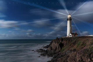 The Pigeon Point Lights
