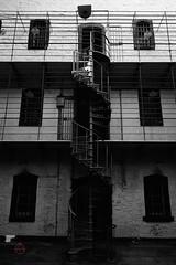 Kilmainham Gaol (tim_asato) Tags: kilmainhamgaol timasato jail creepy scary prision dublin ireland irlanda blackandwhite blancoynegro staris escaleras
