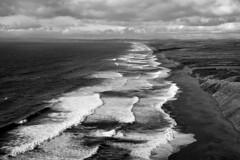 *** (Misha Sokolnikov) Tags: california pacificocean pointreyes ocean sea waves clouds leica leicamonochrom leicamm leicamsystem leicacamera blackandwhite blackwhitephotos noiretblanc monochrome 50mm aposummicron summarit