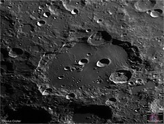 Clavius Crater Through the Esprit 120ED (The Dark Side Observatory) Tags: tomwildoner night sky space outerspace skywatcher telescope esprit 120mm apo refractor celestron cgemdx asi190mc zwo astronomy astronomer science canon crater moon lunar weatherly pennsylvania observatory darksideobservatory tdsobservatory solarsystem clavius