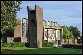 amersfoort heilig kruis kerk 05 1957 v wissen hj (liendertsewg)