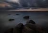 動‧靜 (sic Chiu) Tags: 屏東縣 枋山鄉 456k sunset 日落 夕陽 海岸 海灘 岩石 長曝 longexposure 6d ef1635mm 減光鏡 nd64
