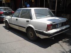 1985 Nissan Stanza (Alpus) Tags: nissan stanza rare car 2017 june lebanon beirut saloon eighties