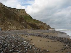 The beach near West Runton (JonCombe) Tags: norfolk coastwalk208 sheringham cromer salthouse coast path england norfolkcoastpath englandcoastpath