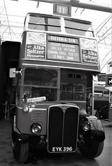 London transport RT1 seen inside it's home  15/04/18. (Ledlon89) Tags: bus buses london transport londonbus londonbuses lt lte lptb vintagebuses brooklands londonbusmuseum weybridge londontransport