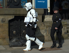 Stroll in Scarborough (Tony Worrall) Tags: scifiscarborough scarboroughscificonvention2018 sci fi scarborough convention 2018 starwars spa yorkshire cosplay costume play stormtrooper event show fun outdoor bus ride travel holiday film fantasy urban candid people person capture outside outdoors caught photo shoot shot picture captured pictures street photos britain english british gb buy stock sell sale resort england regional region area northern uk update place location north visit county attraction open stream tour country welovethenorth