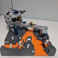 Lego Nexogon exploration module #AdAstra