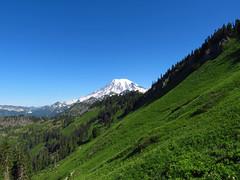 Mt. Rainier on Tatoosh Peak Trail in WA (Landscapes in The West) Tags: tatooshpeak tatooshwilderness giffordpinchotnationalforest washington pacificnorthwest landscape trail hike mountrainier