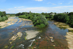 The River Esk at Longtown, 27 July 18 (2 of 2) (gillean55) Tags: canon powershot sx60 hs superzoom bridge camera north cumbria river esk longtown
